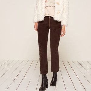 Reformation Bruno Corduroy Pants